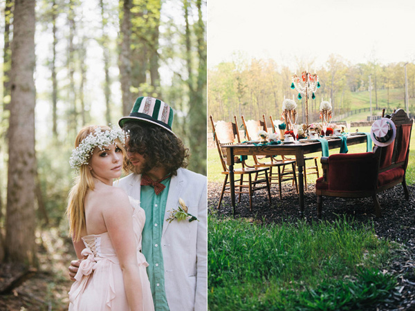 Alice In Wonderland Wedding Theme